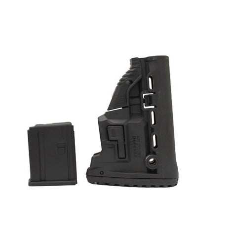 Mako Group M4/AR15 Survival Stock w/Mag Carrier Black
