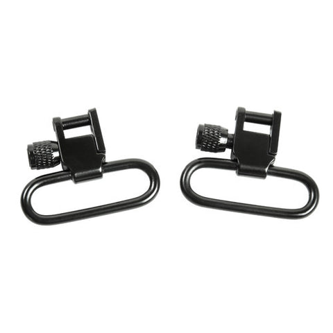 "NcStar 1"" Lockable Sling Swivel (Pair)/Black"