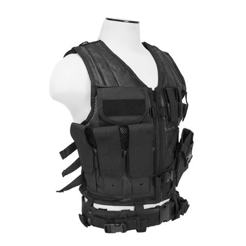 NcStar Tactical Vest Black, XL-XXL+