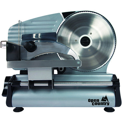 "Open Country Food Slicer 180W with 8"" Blade"