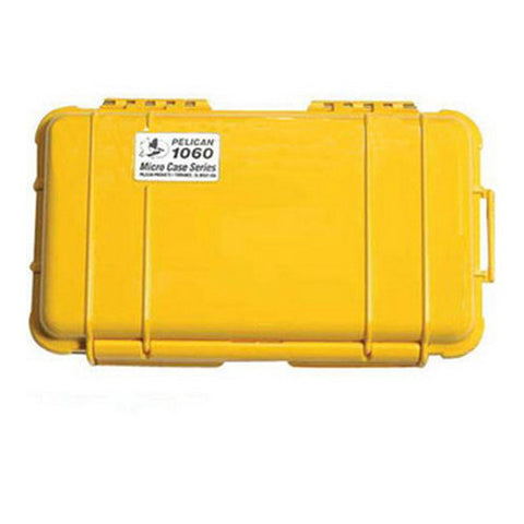 Pelican Micro Case 1060 Yellow w/Black Liner