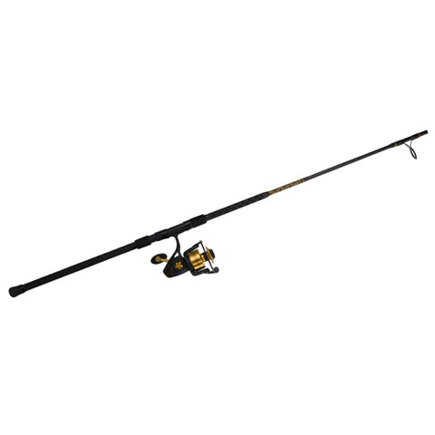 Penn Spinfisher V Spinning Combo 5500, 5.6:1 Gear Ratio, 8 2pc Rod, 12-20 lb Line Rate, Medium/Heavy Power