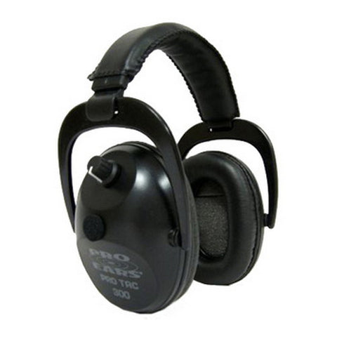 Pro Ears Pro Tac Plus Gold Noise Reduction Rating 26dB, Black