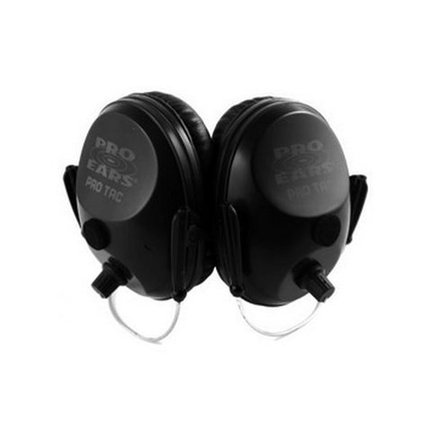 Pro Ears Pro Tac Plus Gold Noise Reduction Rating 26dB, Behind The Head, Black