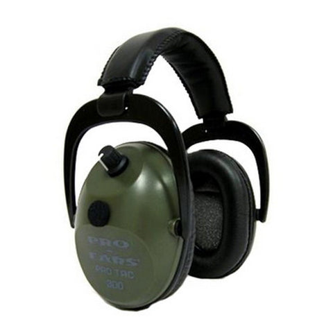 Pro Ears Pro Tac Plus Gold Noise Reduction Rating 26dB, Green