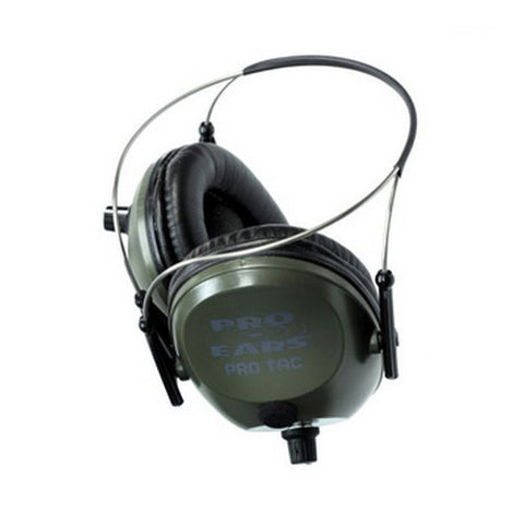 Pro Ears Pro Tac Plus Gold Noise Reduction Rating 26dB, Behind The Head, Green