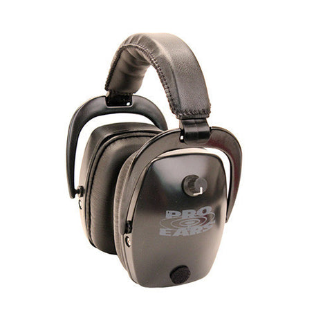 Pro Ears Pro Tac Slim Gold Noise Reduction Rating 28dB, Lithium 123 Battery, Black