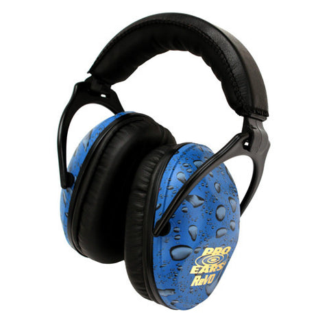 Pro Ears Passive Revo Noise Reduction Rating 25dB, Blue Rain