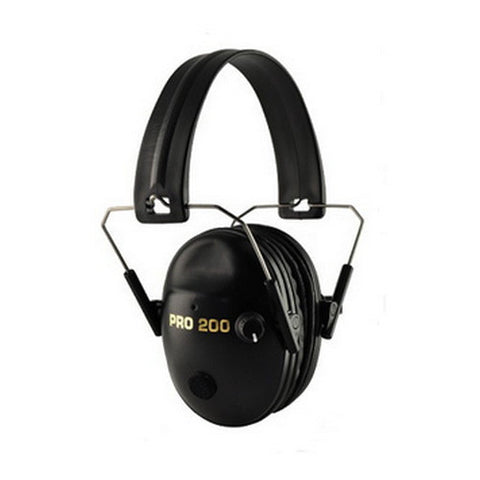 Pro Ears Pro Tac 200 Noise Reduction Rating 19dB, Black