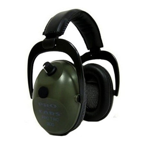 Pro Ears Pro Tac 300 Noise Reduction Rating 26dB, Green