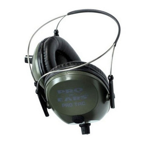 Pro Ears Pro Tac 300 Noise Reduction Rating 26dB, Behind The Head, Green