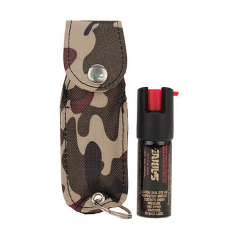 Sabre SABRE USA .54 oz Pocket Key Case Green Camo