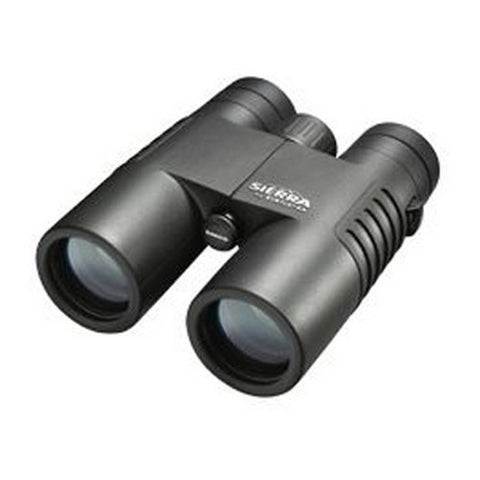 Tasco Sierra Black Waterproof, Fogproof Binoculars 10x42mm Black Roof Prism
