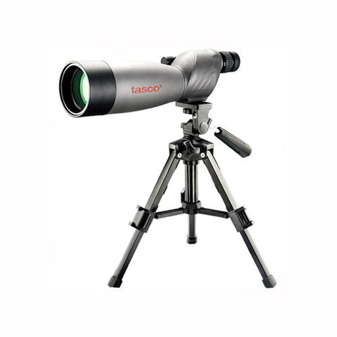 Tasco World Class Spotting Scope 20-60x60mm Gray/Black Porro w/Tripod