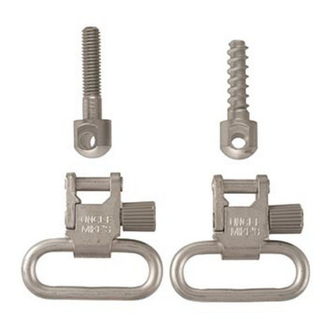 Uncle Mikes Swivels QD 115 Nickel 1""
