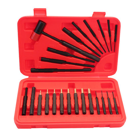 Winchester Cleaning Kits 24 Piece Punch Set, 6 Roll Pin Punches