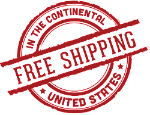 Free shipping in the continental usa