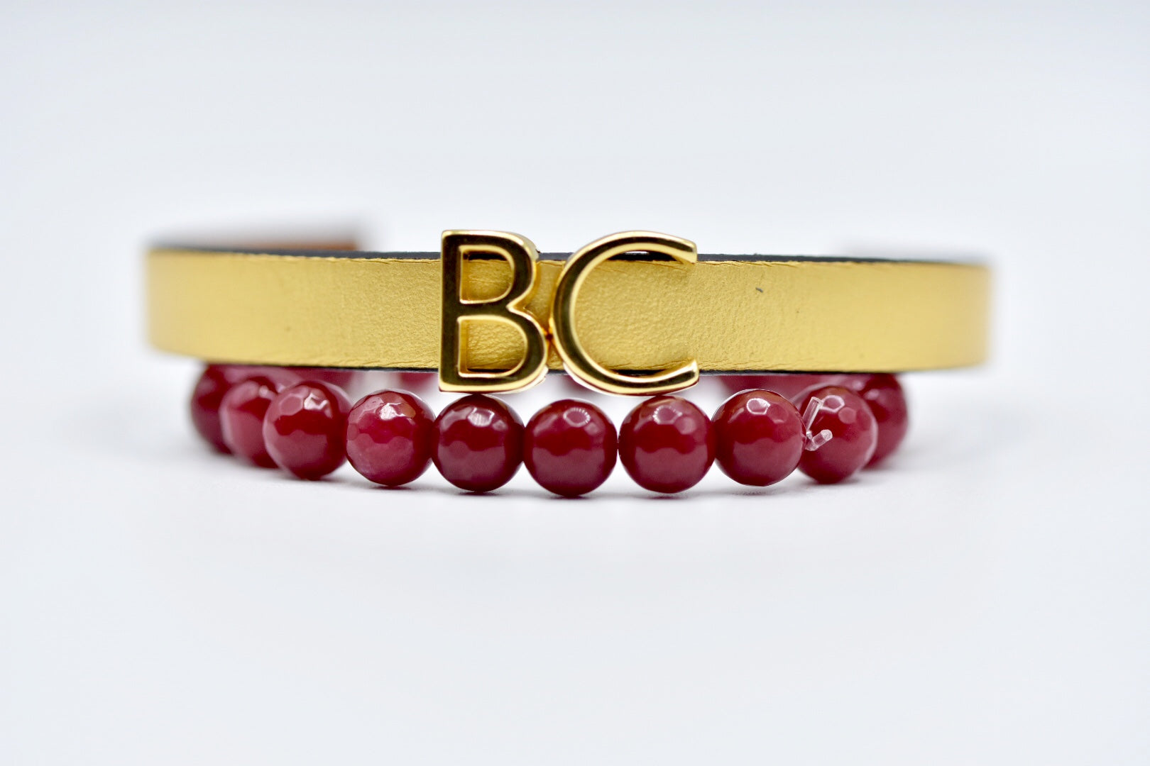 BC LEATHER BRACELET