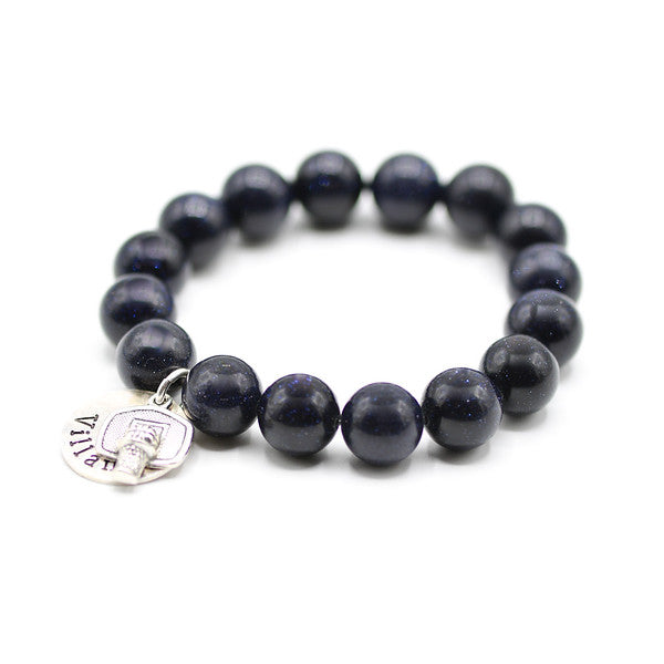 Villanova Basketball Bracelet, College jewelry
