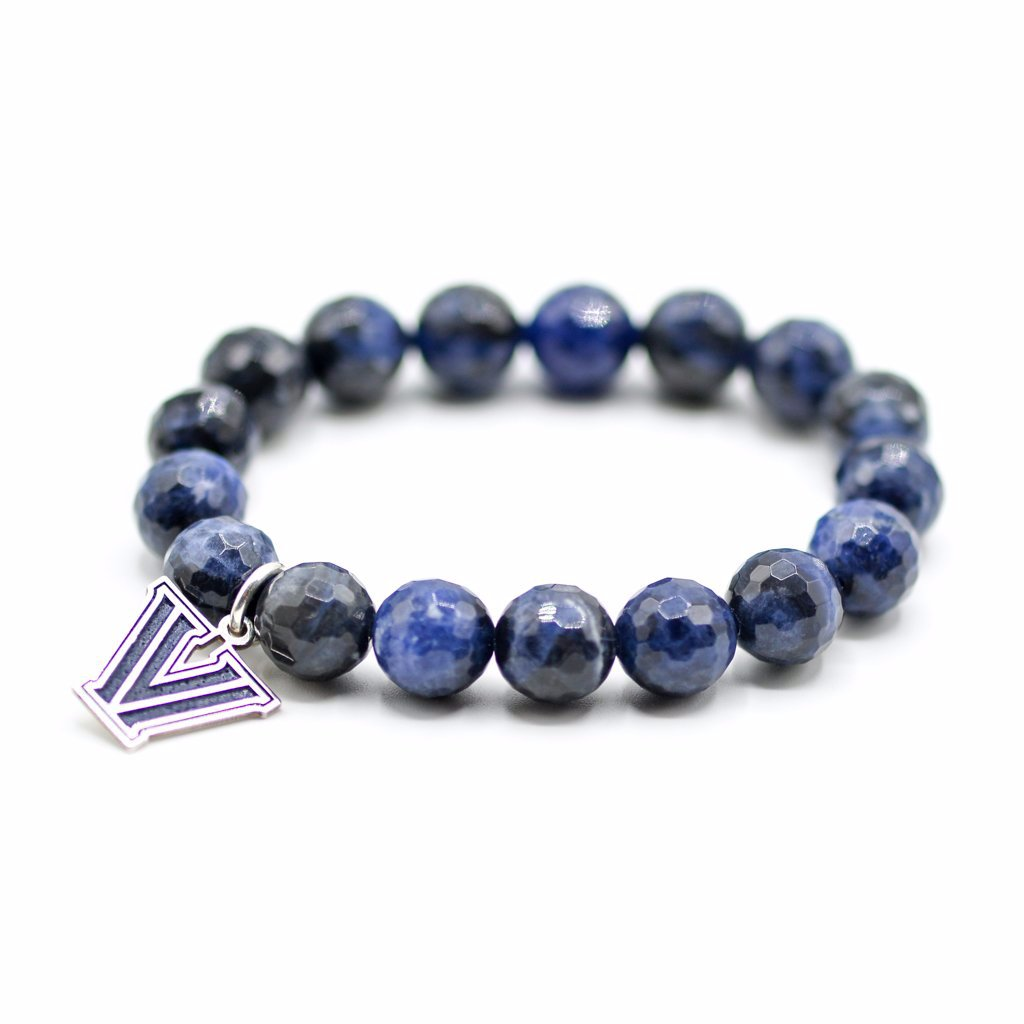 college bracelet, Villanova jewelry, collegiate jewelry