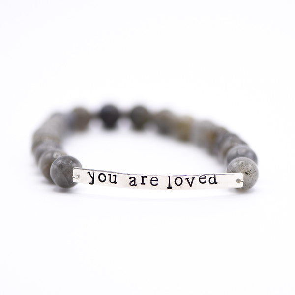 You are Loved Mantra Bracelet