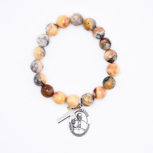 Gemstone Beaded Bracelet, Popelet