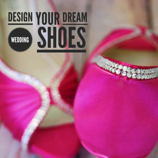 Design your own custom wedding shoes with Ellie Wren