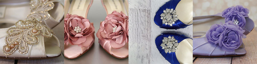 Abby Low Heel Wedding Shoes Moderate Price Point Custom Wedding Shoes Ellie Wren