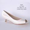 Sofie Base Shoe Custom Wedding Shoes