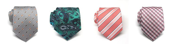 Wedding Ties Paisley Wedding Tie Pinstripe Tie Checkerboard Tie