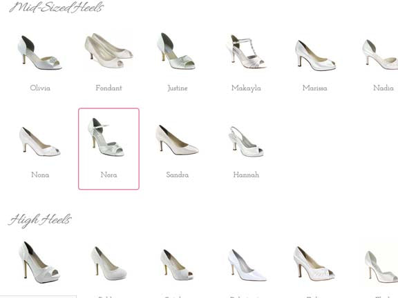 ustom Wedding Shoe Design Tool 1