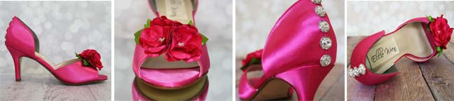 Custom Wedding Shoe Photos