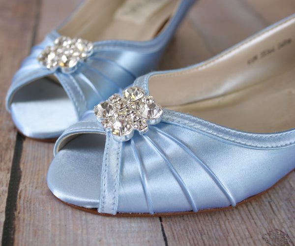 a2c3f7447c70 Honey Wedding Shoes with Simple Adornment – Ellie Wren