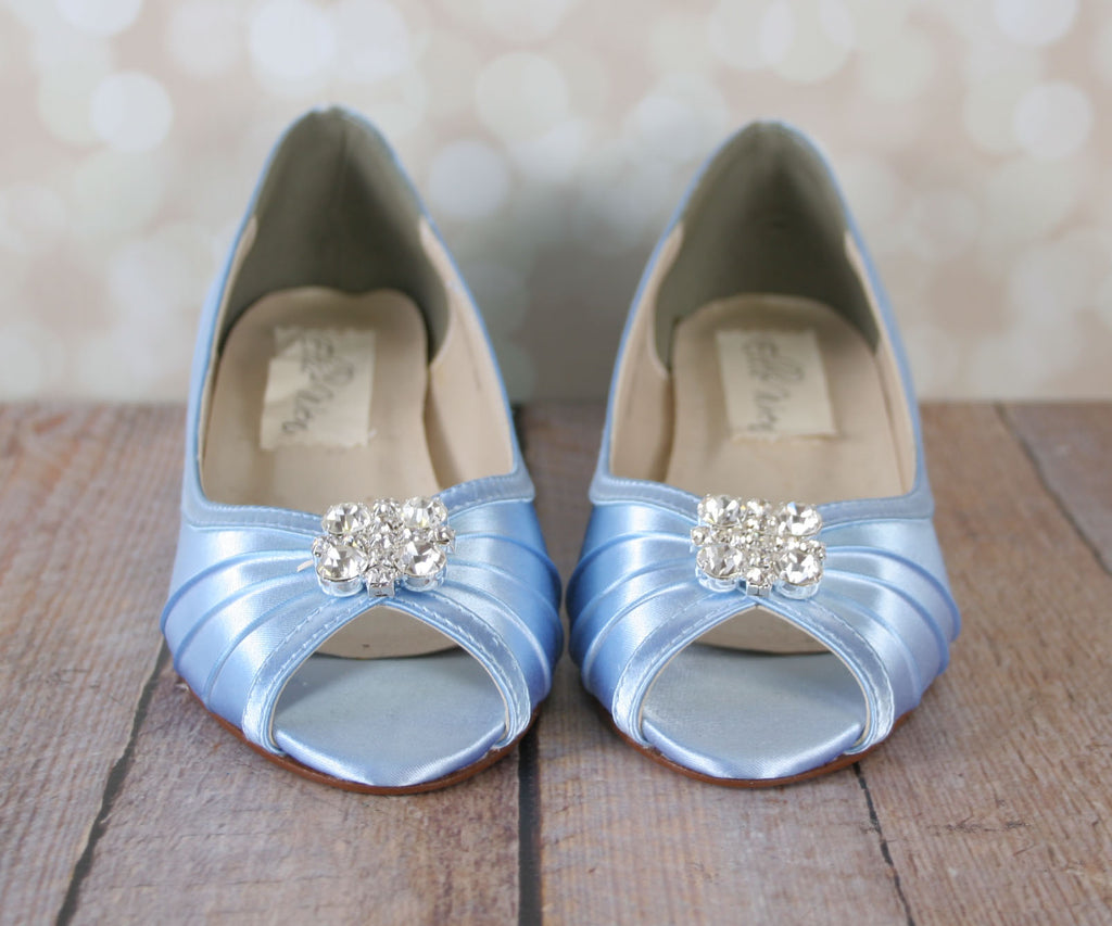 57ff89a23d3 ... Honey Wedding Shoes with Simple Adornment - Ellie Wren ...