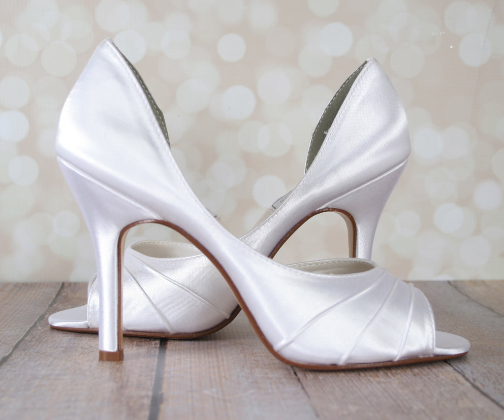 Flash Dyeable Wedding Shoes (Color May Be Customized) - Ellie Wren