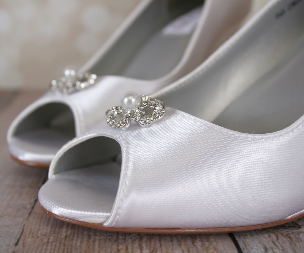 fa666e23896c ... Minka Dyeable Wedding Shoes (Color May Be Customized) - Ellie Wren ...