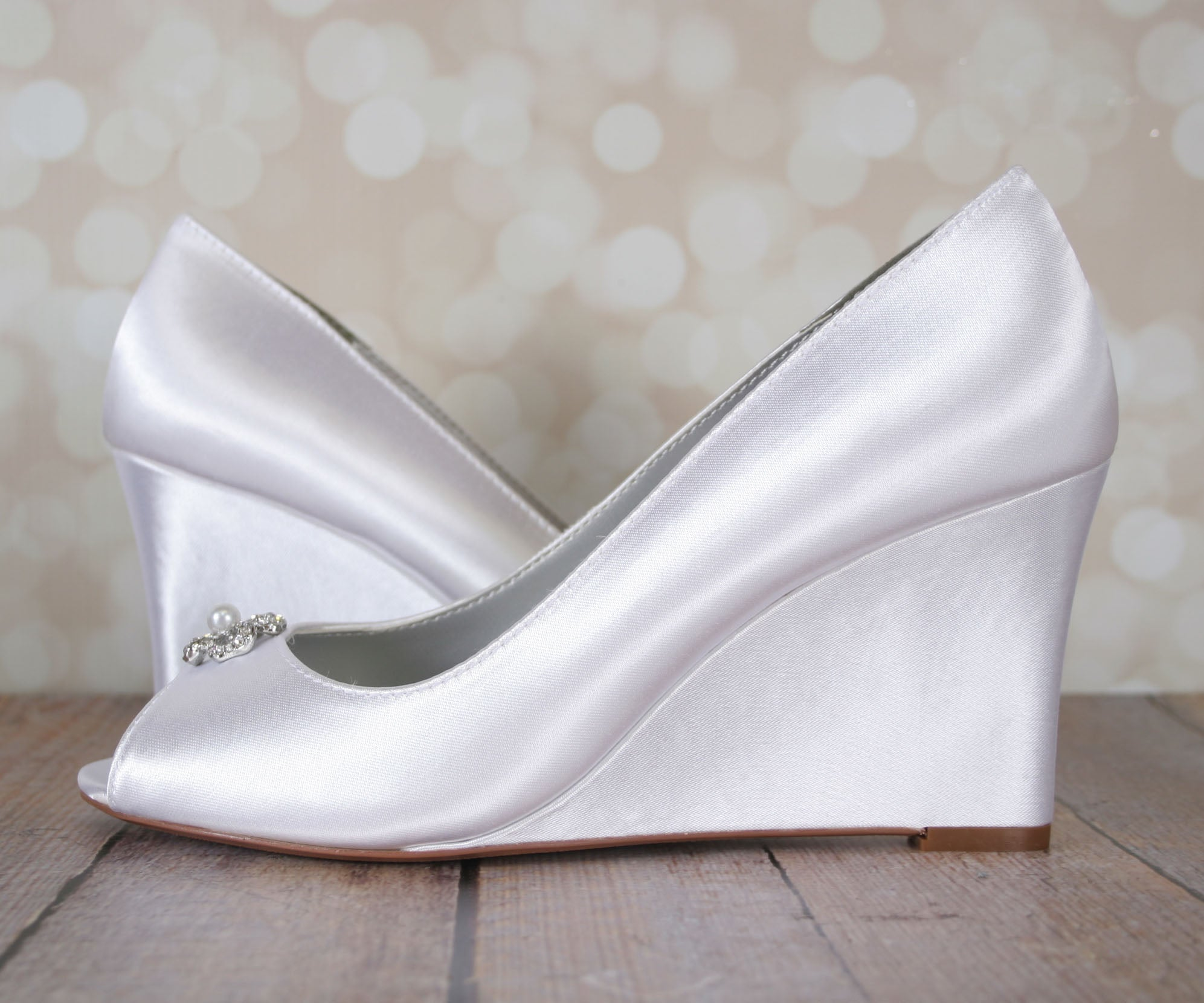 7d3fa4f6041d Minka Dyeable Wedding Shoes (Color May Be Customized) – Ellie Wren