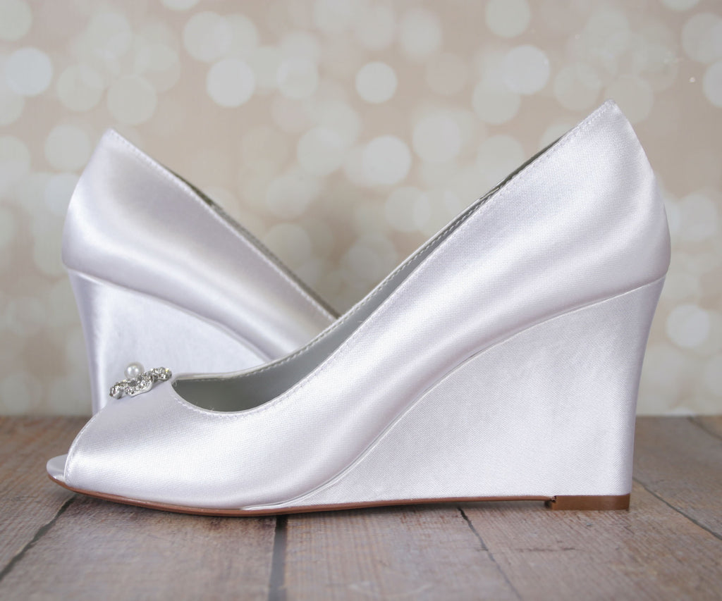 Minka Dyeable Wedding Shoes (Color May Be Customized) - Ellie Wren