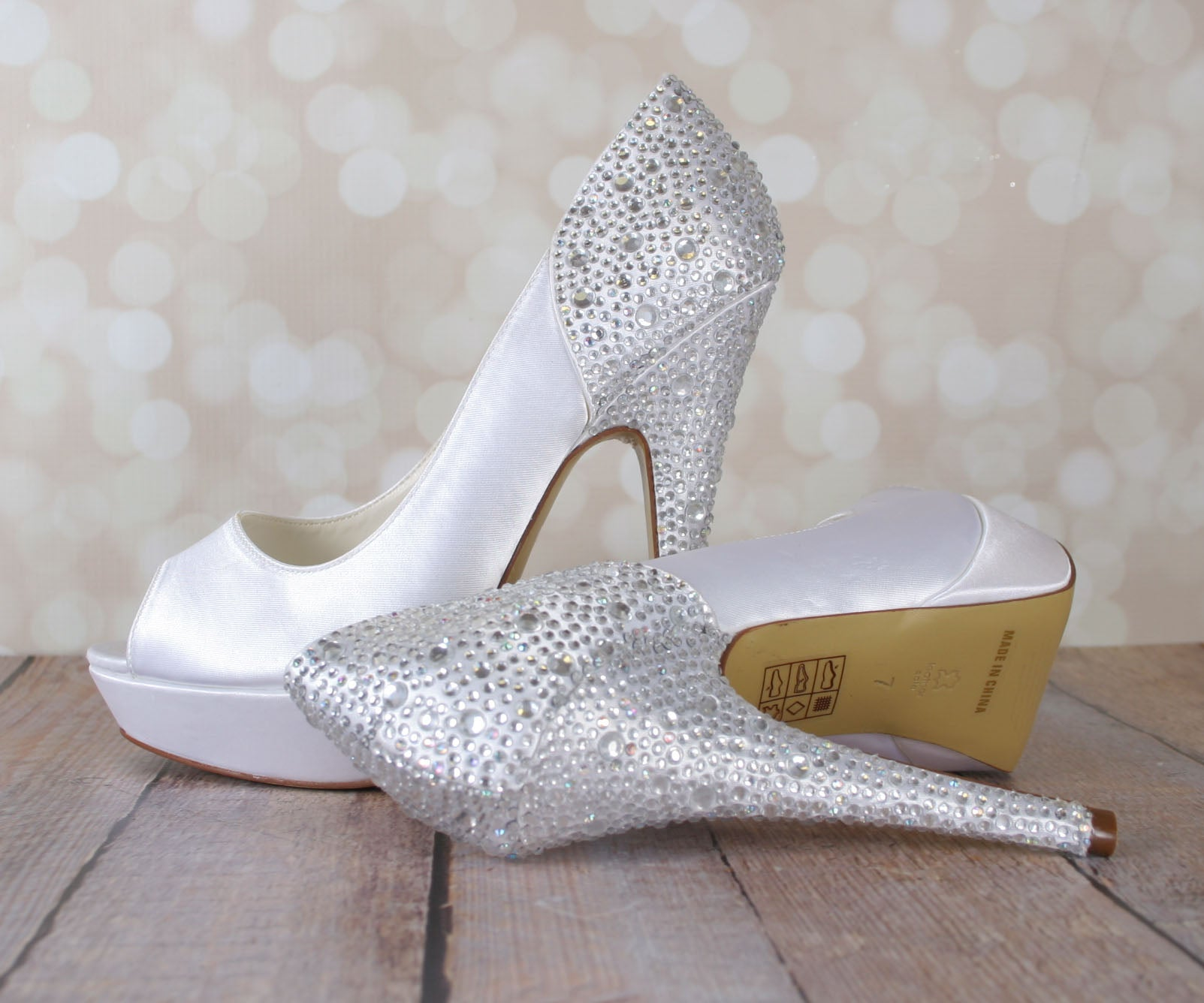 014d99ceb781 Starry Wedding Shoes (Color May Be Customized) – Ellie Wren