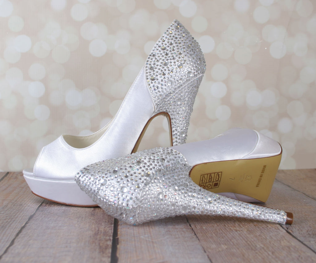 Starry Wedding Shoes (Color May Be Customized) - Ellie Wren