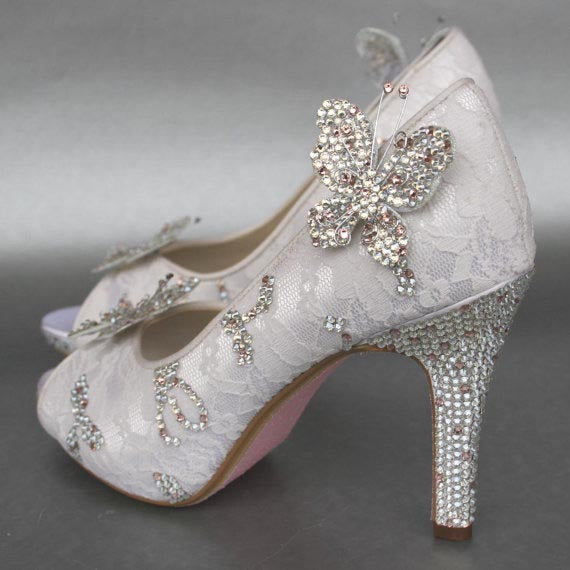 091b7cc82e1 Be inspired to design your own custom wedding shoes with Ellie Wren!