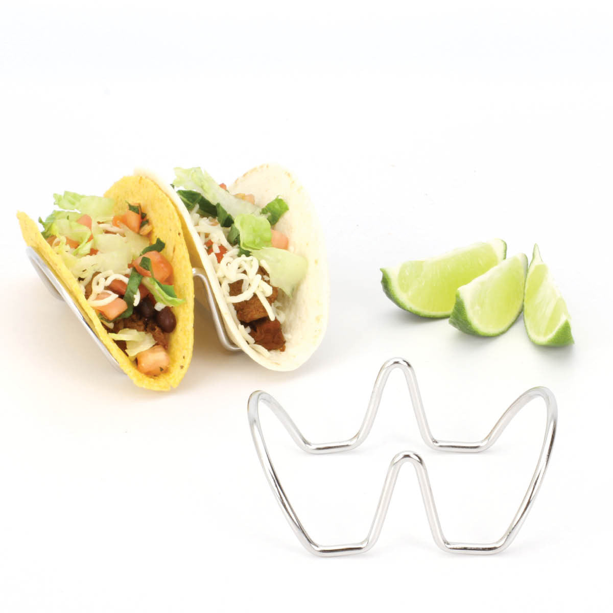 Taco Holders Stands 2 Pack Holds Tacos Each