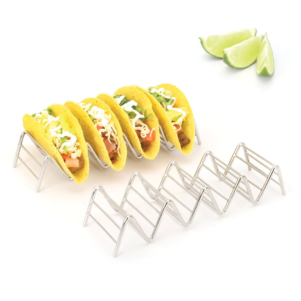 Taco Holders / Stands (2 Pack - Holds 4-5 Tacos Each)
