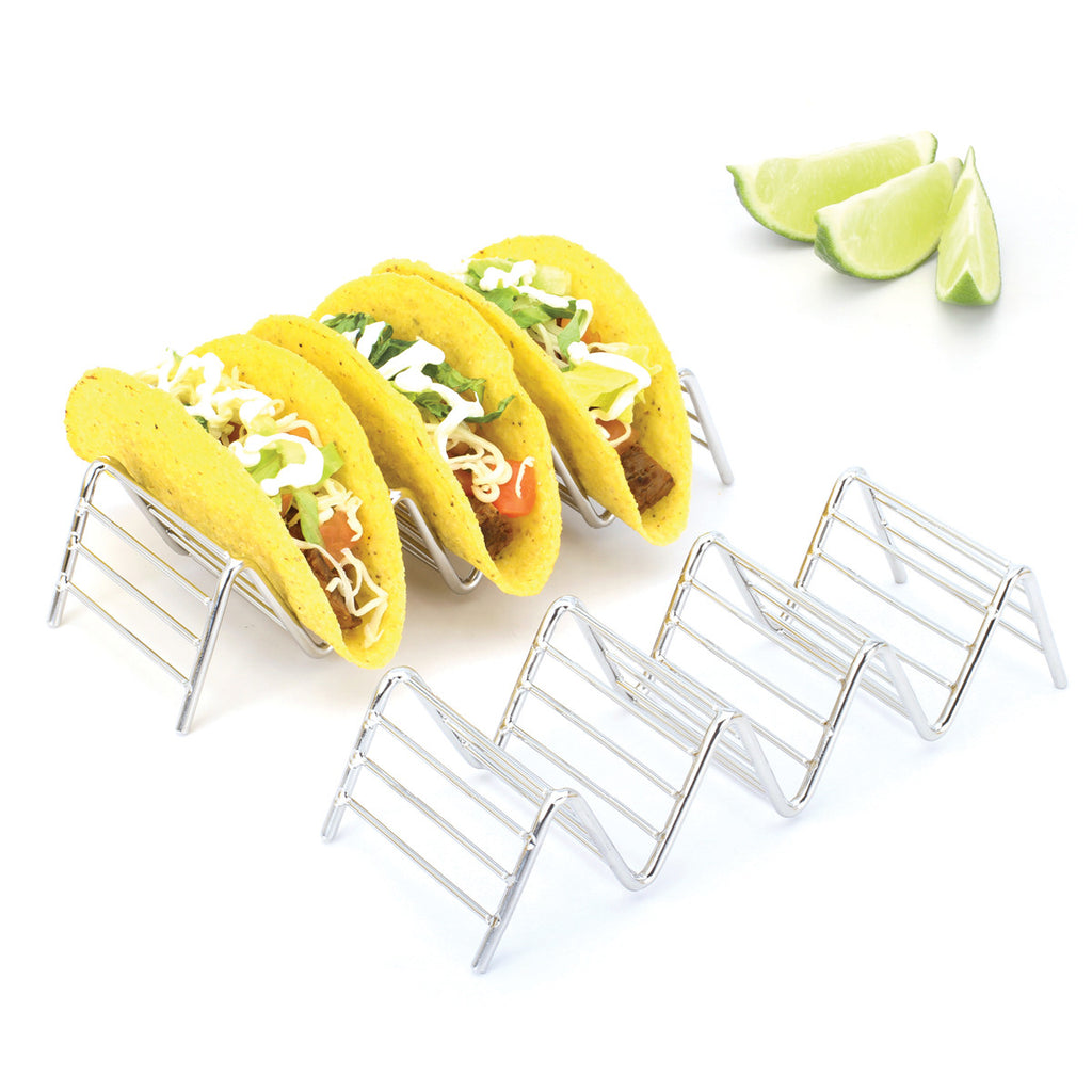 Taco Holders / Stands (2 Pack - Holds 3-4 Tacos Each)