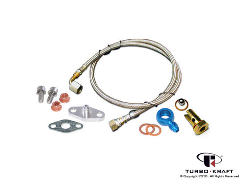 Turbocharger Oil Feed Line Set : 3K-Warner