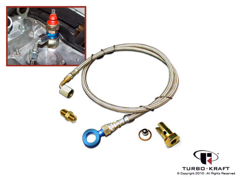 Turbocharger Oil Feed Line Set : Garrett