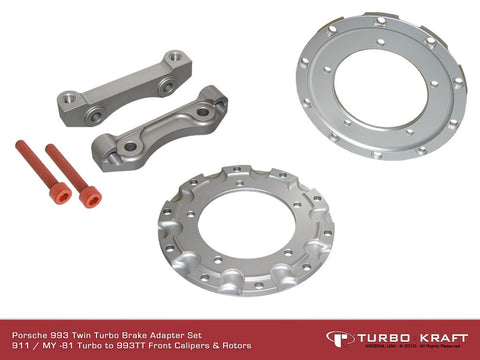 Brake Adapter Set : 993TT to 911-930