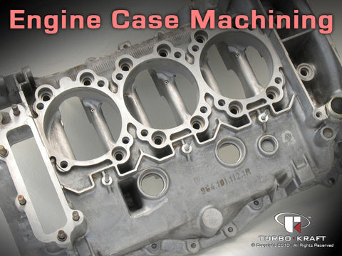 Engine case machine large