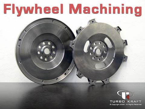 Flywheel : Machining (Multiple Versions/Options)