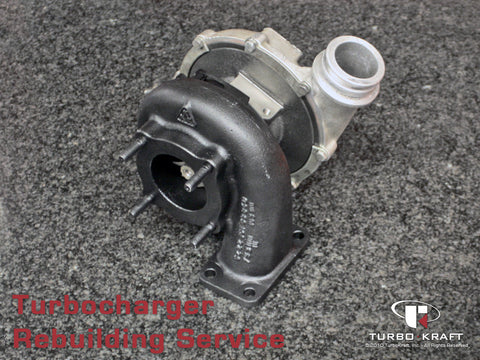Turbocharger : Borg Warner / Garrett Rebuild